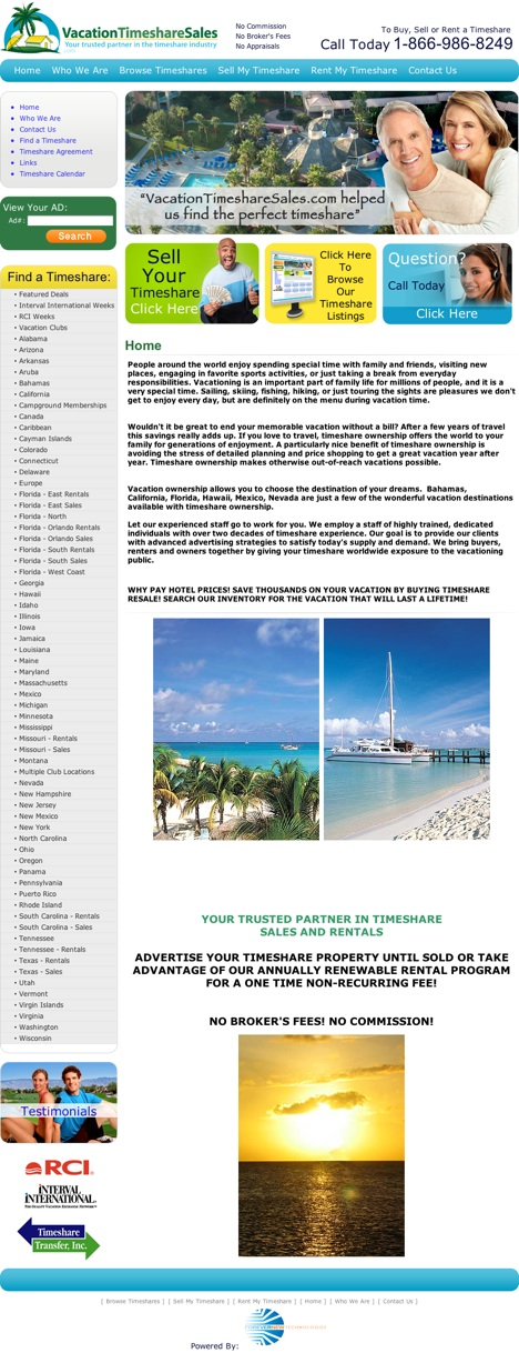 Find the best price for listing your timeshare today! Find out more at Vacationtimesharesales.com!