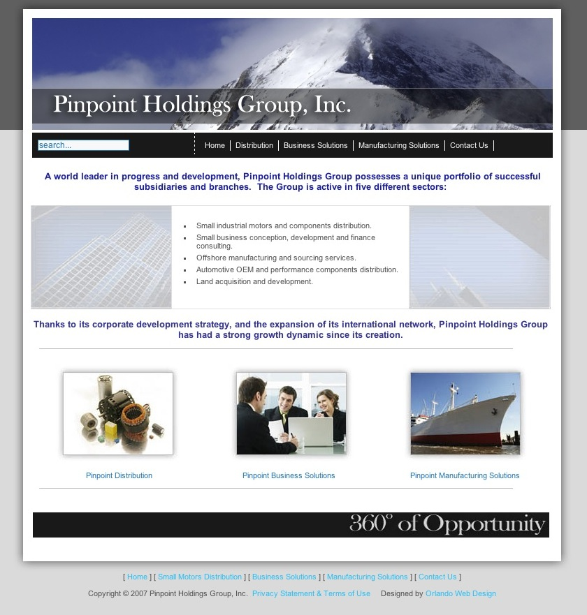 Pinpoint Holdings Group