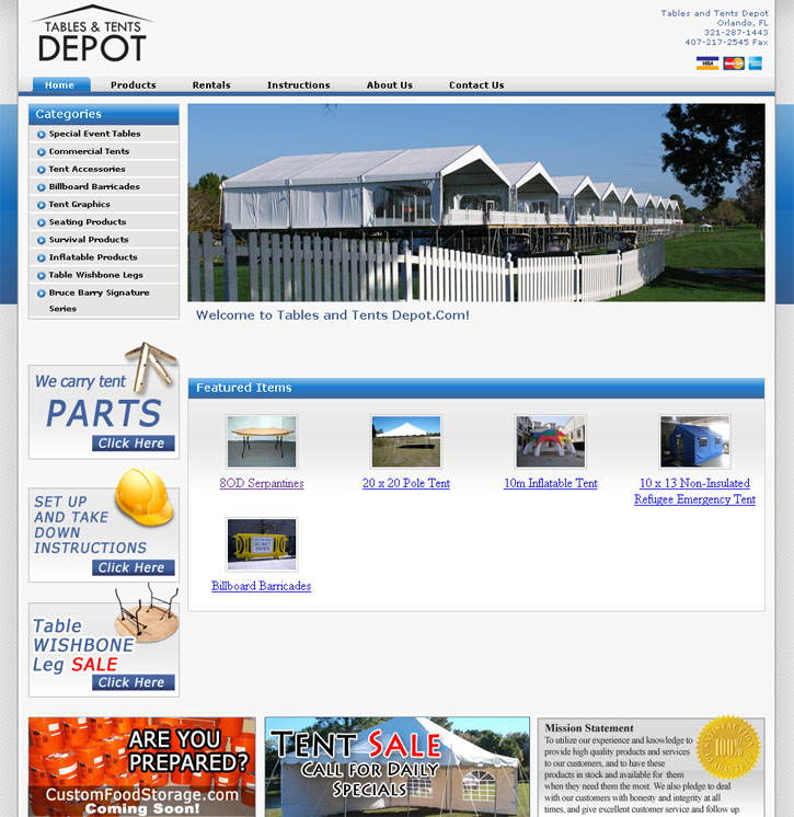 Tables & Tents Depot